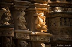 Sculptures of Khajuraho