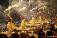Evening Puja on Varanasi Ghats