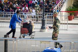 Crossing Pakistani/Indian Border
