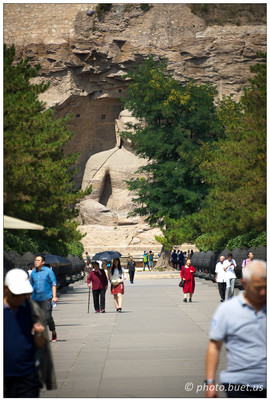 Yungang grottoes of Datong