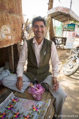 The friendliest and hardest negotiator of Khajuraho