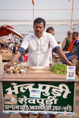 Street food & QR code