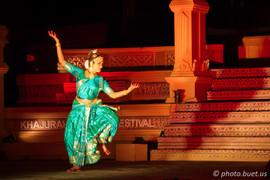 Dancer in Khajuraho temples
