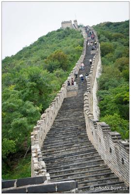 Grimper sur la Grande Muraille à Mutianyu