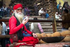 Varanasi Guru's tea break