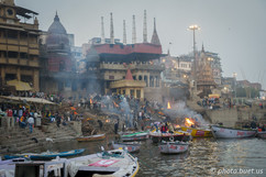 Cremation in Varanasi