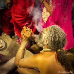 Guru in Varanasi