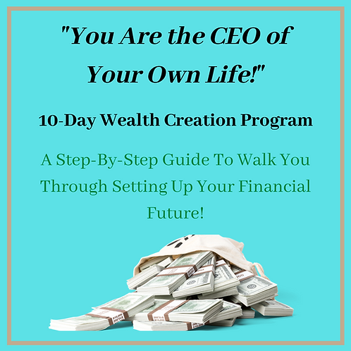 10-Day Wealth Creation Audio Program