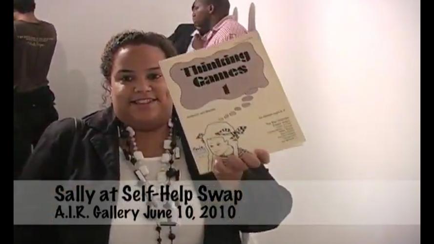 2010, Sally Hyppolite at Self-Help Swap, A.I.R. Gallery, Brooklyn, New York