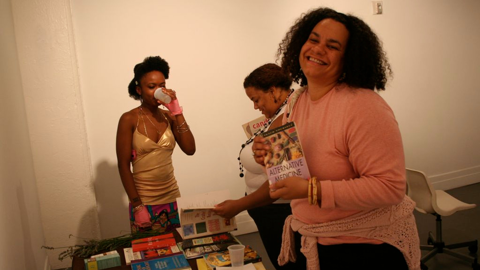2010, Julie Novas at Self-Help Swap at A.I.R. Gallery