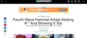 Fourth-Wave Feminist Artists Kicking A** And Showing It Too