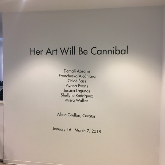 Her Art Will Be Cannibal 2018