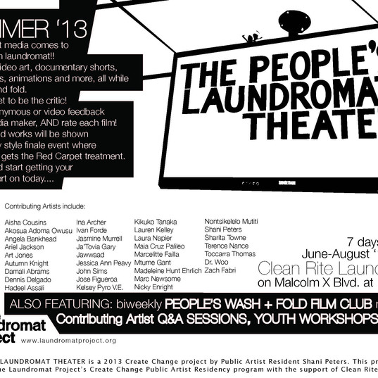 The People's Laundromat Theater