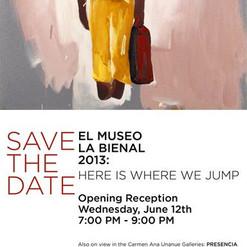 EL MUSEO BIENAL: Here Is Where We Jump