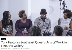 York Features Southeast Queens Artists' Work in Fine Arts Gallery