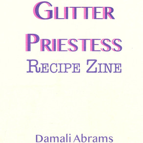Glitter Priestess Recipe Zine