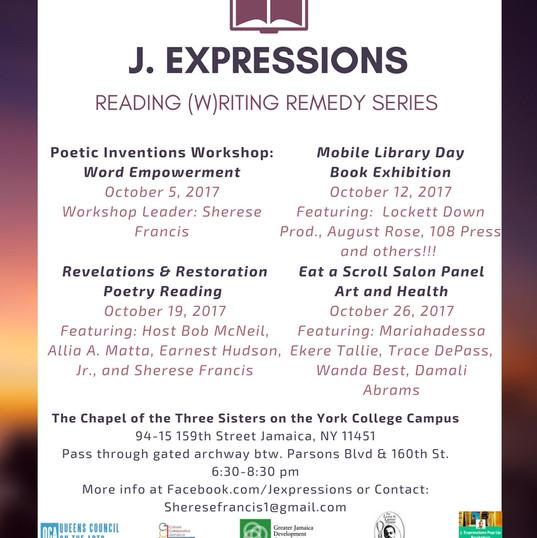 J. Expressions Eat a Scroll Salon Series