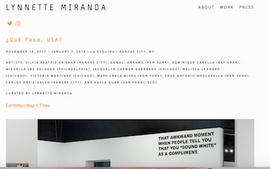 Lynnette Miranda : Qué Pasa USA?