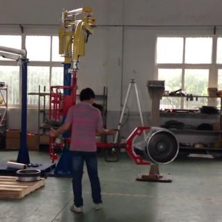 Tyre Rim handling industrial manipulator