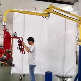 Armtec industrial maipulator with pneuma