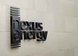 lexus energy 3D Wall Logo MockUp