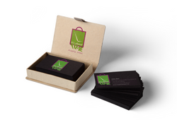 shopping Business-Card-Mock-Up