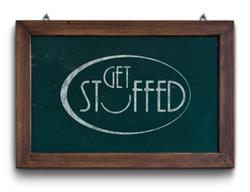 Get Stuffed Chalkboard