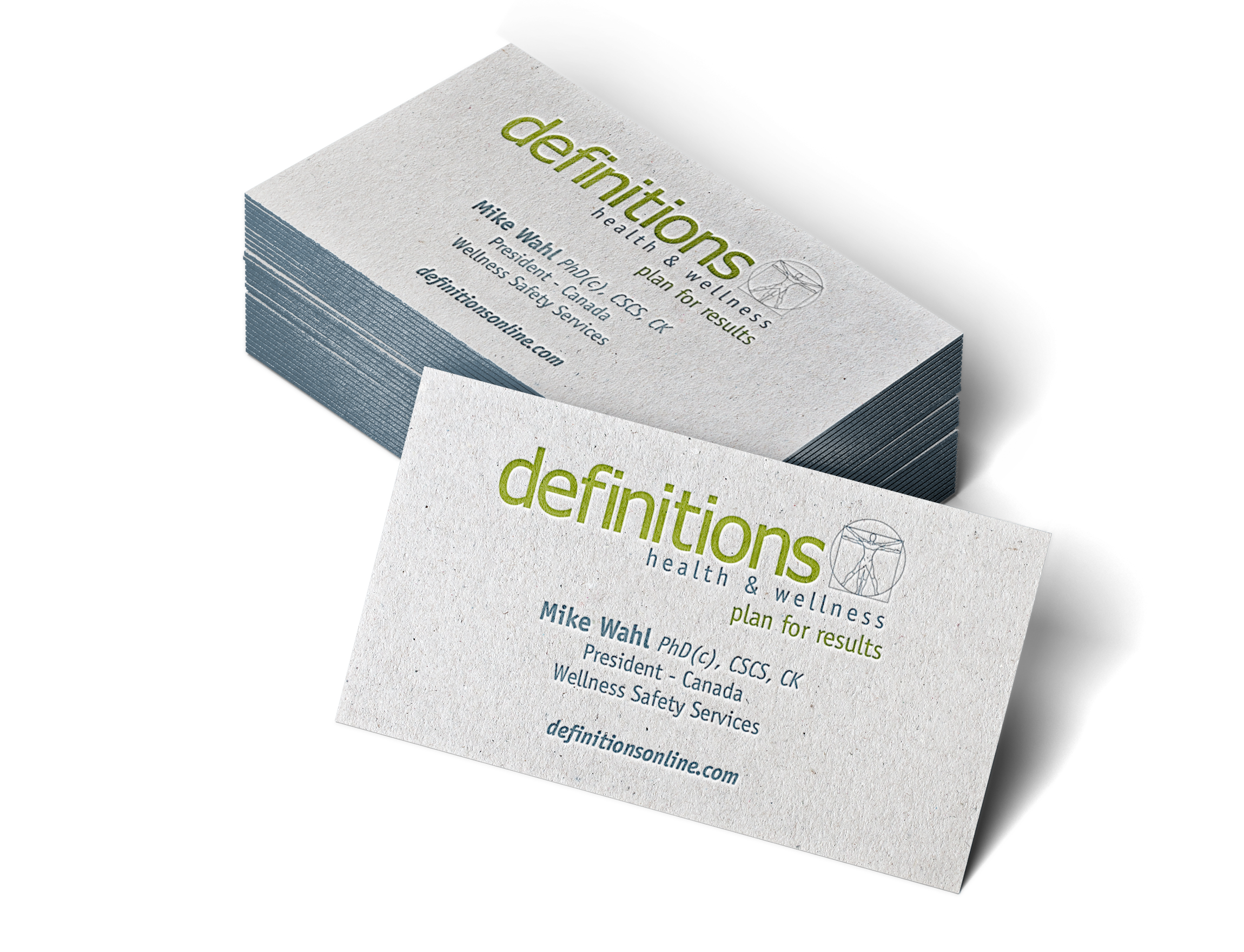 definitions Letterpress Business Cards