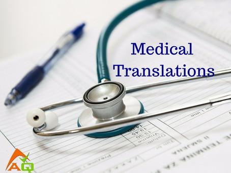 תרגומים רפואיים