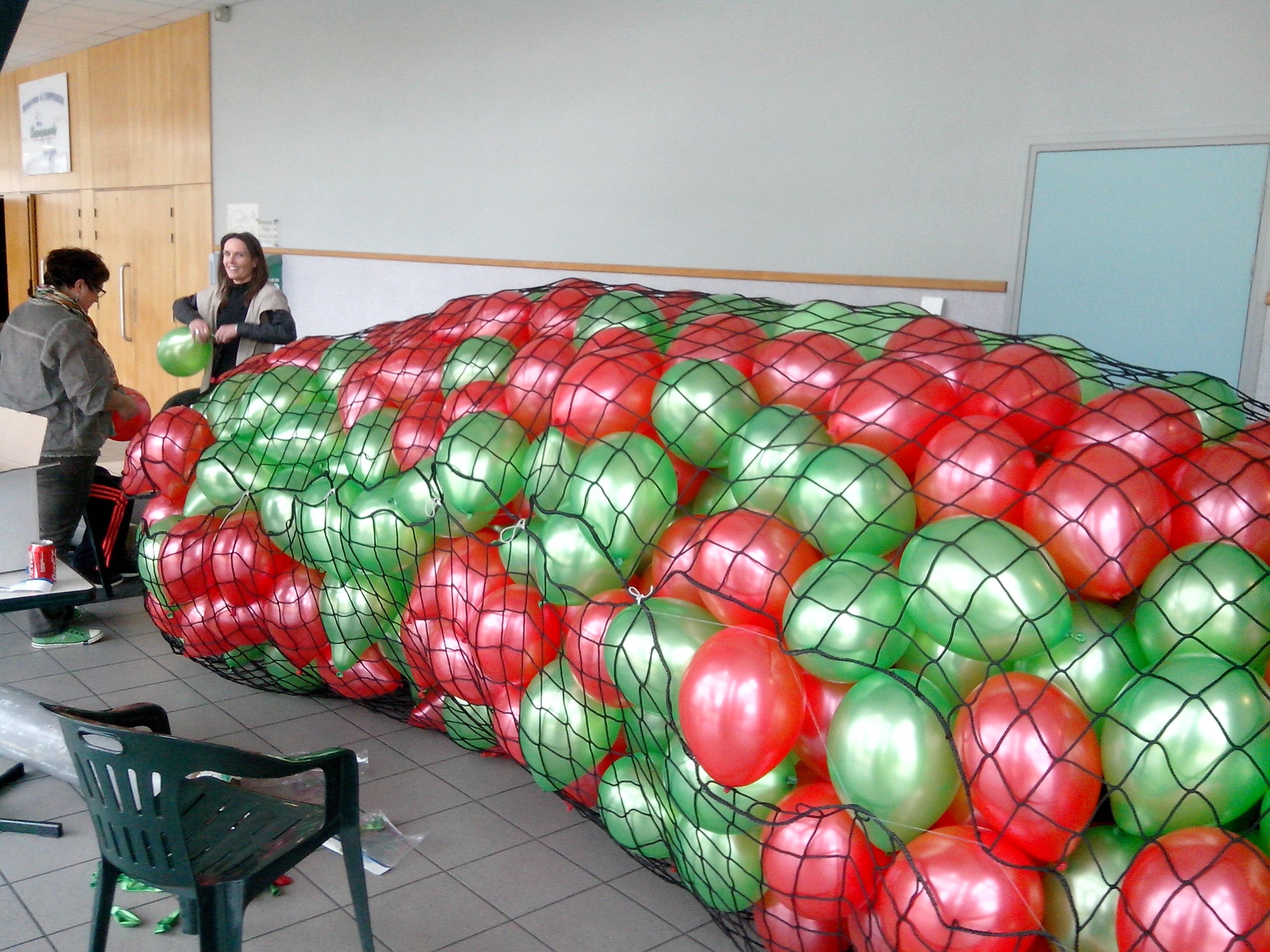 Les ballons sont prêts