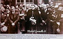 Palais du Roure Cérémonie  Avignon. Cartes postales anciennes. Michel Gromelle. Avignon la cité mariale.