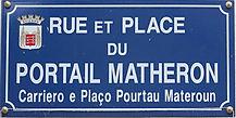 Portail Matheron