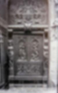 Eglise Saint Pierre Avignon . Cartes postales anciennes. Michel Gromelle. Avignon la cité mariale.