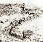 Pont dessin Pere Etienne Matrellange 17e