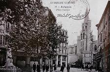 Rue Carno Avignon. Cartes postales anciennes. Michel Gromelle. Avignon la cité mariale.