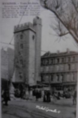 Tour Saint Jean Place Pie Avignon. Cartes postales anciennes. Michel Gromelle. Avignon la cité mariale.