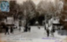 Avenue de la Gare Avignon.  Avignon. Cartes postales anciennes. Michel Gromelle. Avignon la cité mariale.