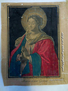 Estampe - Maria mater gratiae - Avignon - Bibliothèque Municipale d'Avignon - Avignon, la cité mariale