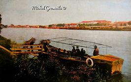Bac à Treille Avignon. Cartes postales anciennes. Michel Gromelle. Avignon la cité mariale