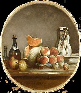Melon entamé Chardin 1760.png