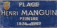 Manguin Henri Place