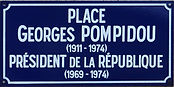 Pompidou Georges Place
