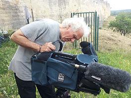 Avignon, la cité mariale, tournage , documentaire, paroles d'Avignonnais