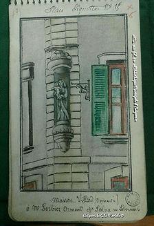 Carnets de Cahuzac - 15 place Pignotte Avignon - Bibliothèque Municipale d'Avignon - Avignon, la cité mariale
