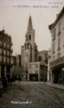 Eglise Saint Pierre place Saint Pierre Avignon . Cartes postales anciennes. Michel Gromelle. Avignon la cité mariale