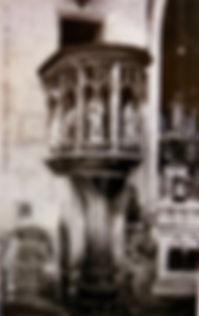 Eglise Saint Pierre Intérieur Avignon . Cartes postales anciennes. Michel Gromelle. Avignon la cité mariale.