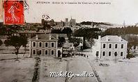 Caserne Chabran Avignon . Cartes postales anciennes. Michel Gromelle. Avignon la cité mariale.