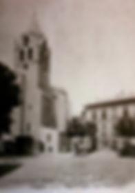 Eglise Place Saint Didier Avignon . Cartes postales anciennes. Michel Gromelle. Avignon la cité mariale.