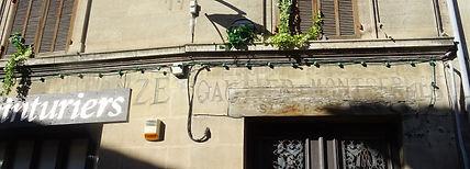 Enseigne Teinturiers Bronze Gautier Mont