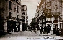 Rue Carnot Avignon. Cartes postales anciennes. Michel Gromelle. Avignon la cité mariale.